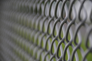 Closeup of Commercial Fencing in Alsip IL