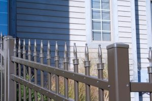 Beautiful Residential Fence Installed by America's Backyard Fencing and Decking