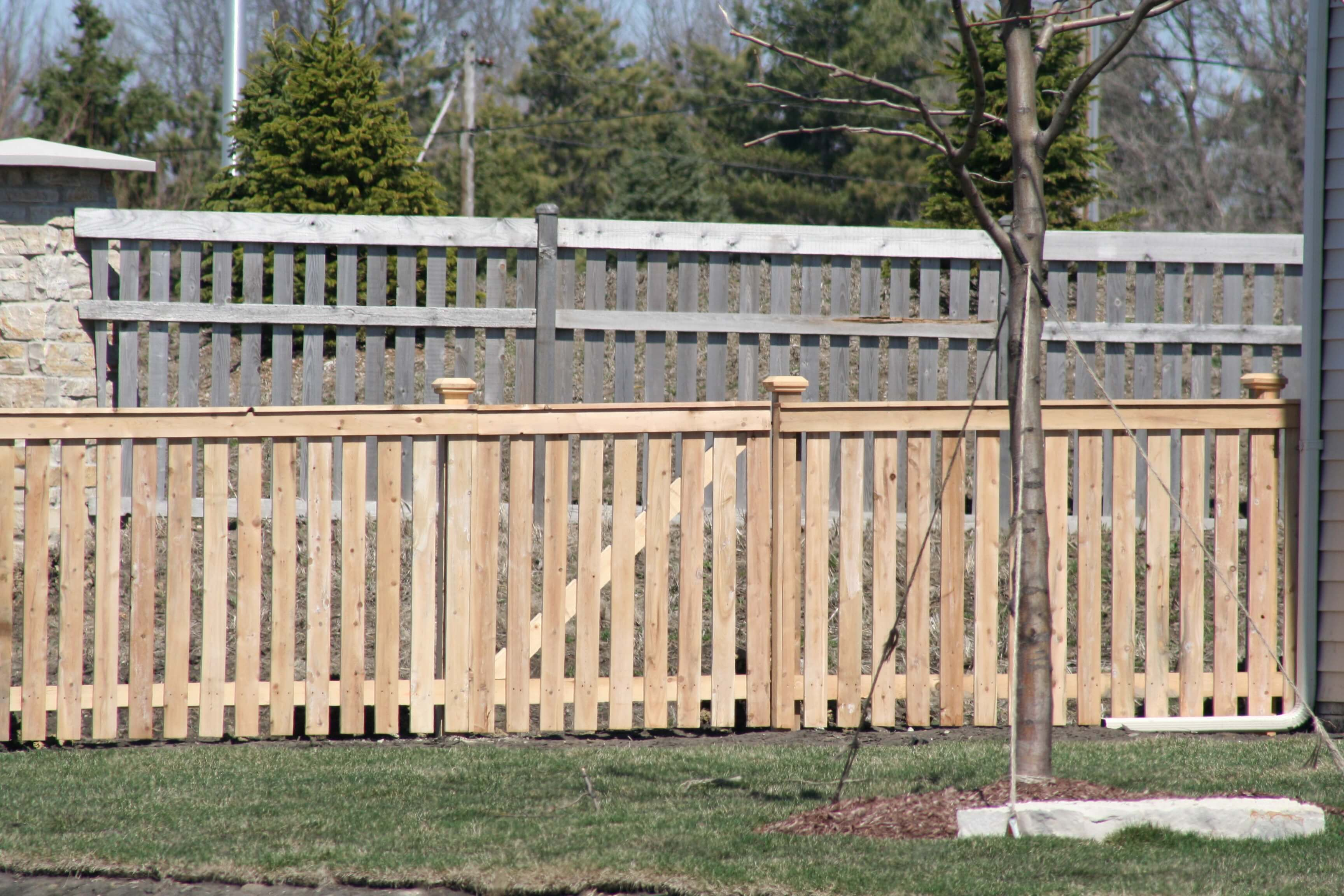 Spaced Cedar Fences Joliet IL America s Backyard