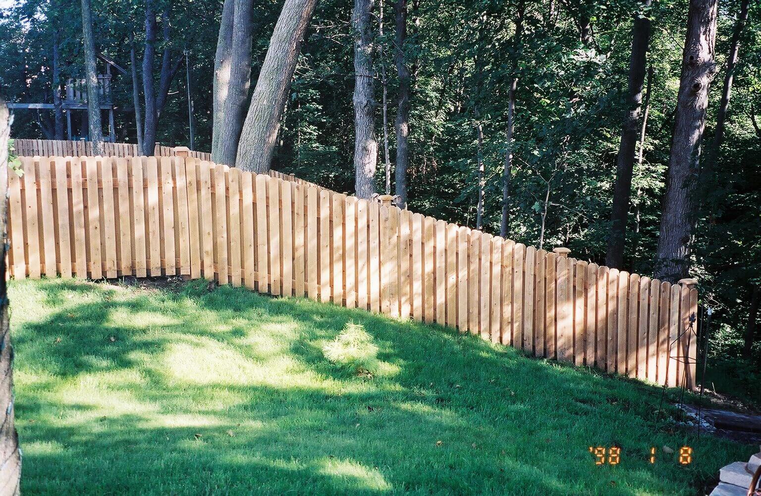 Cedar Fences Wood Fences America S Backyard In Joliet Il