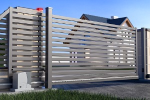 A Gate for an Aluminum Fence in Joliet IL