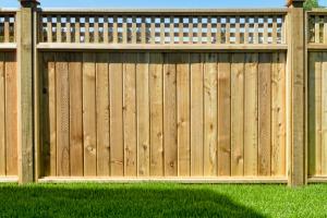 A Privacy Cedar Fence in Naperville IL